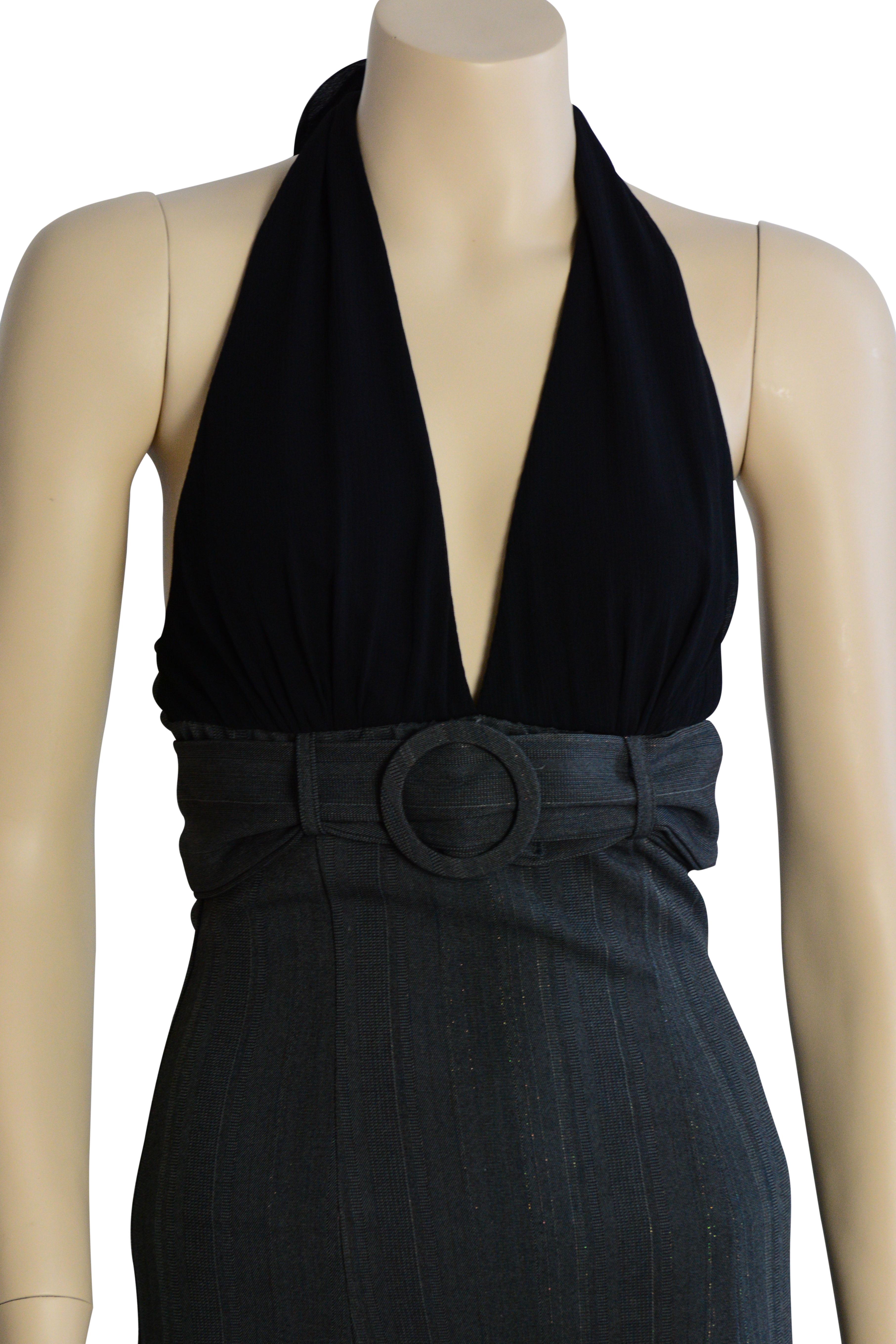 Black dress size 8 nwt